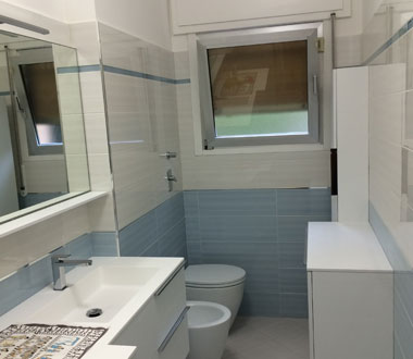 Ristrutturazione stanza da bagno Milano