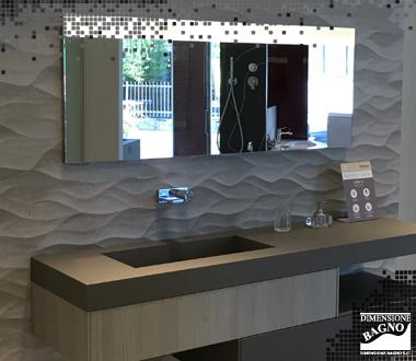 Dimensione Bagno dà il benvenuto nel suo showroom a Porcelanosa.