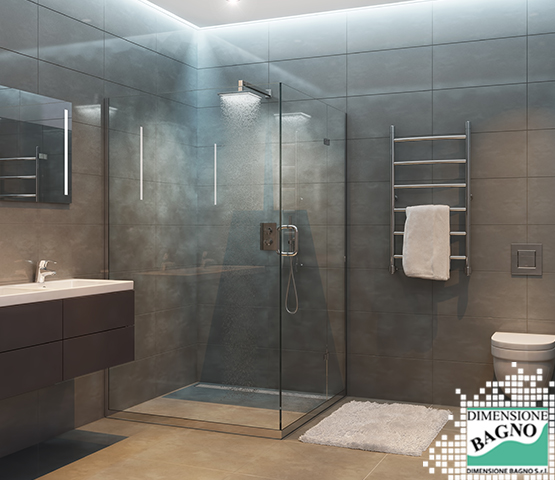Bagni e materiali: il vetro per box doccia