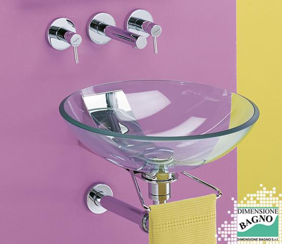 Bagni e materiali: il vetro per accessori da bagno