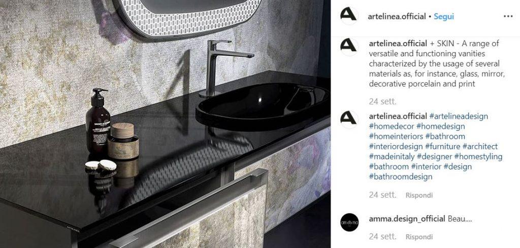 artelinea mobili bagno