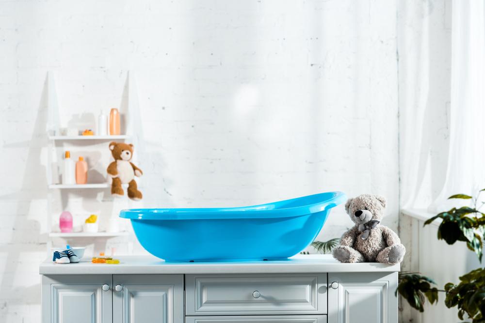 Quando arriva un bebè il bagno può subire delle trasformazioni