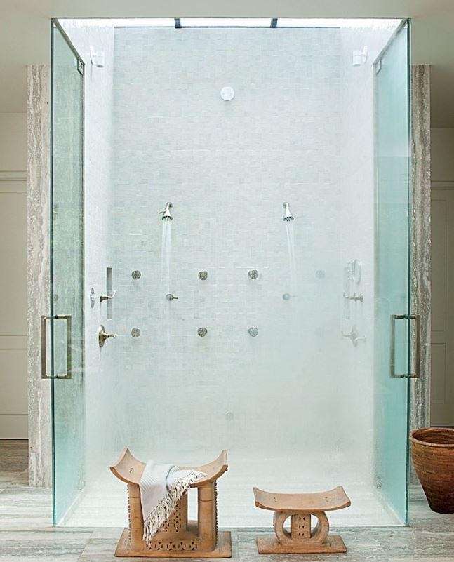 doccia di Ellen Degeneres e Portia De Rossi