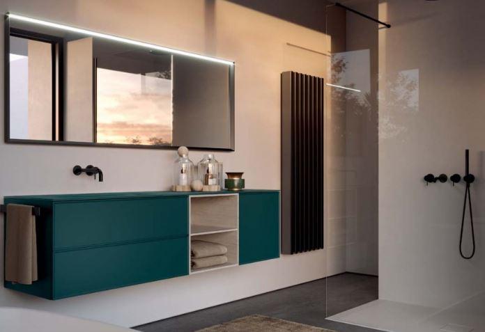 Ideagroup, mobile bagno verde salvia