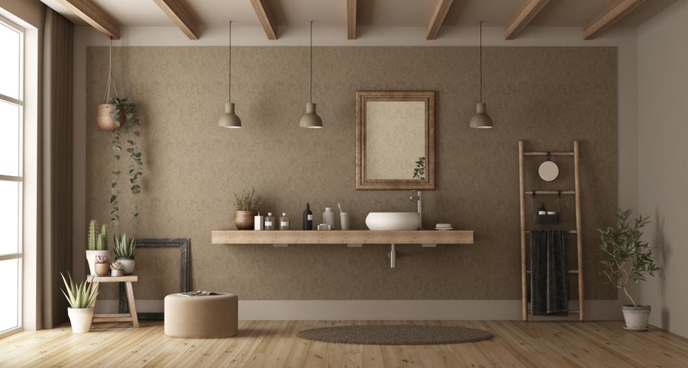 Un lavabo può essere posizionato anche in altri ambienti della casa