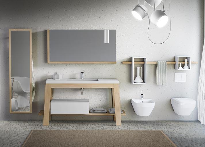 Leader nella progettazione e vendita  di arredamento per il bagno, box doccia e sanitari.