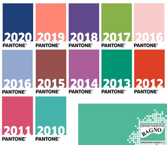 Ispirazioni bagno: Colore Pantone dell'anno dal 2000 al 2020