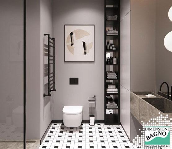 Un secondo bagno: mobili e accessori