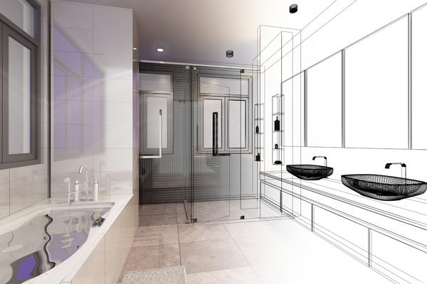 progettazione-nuovo-bagno