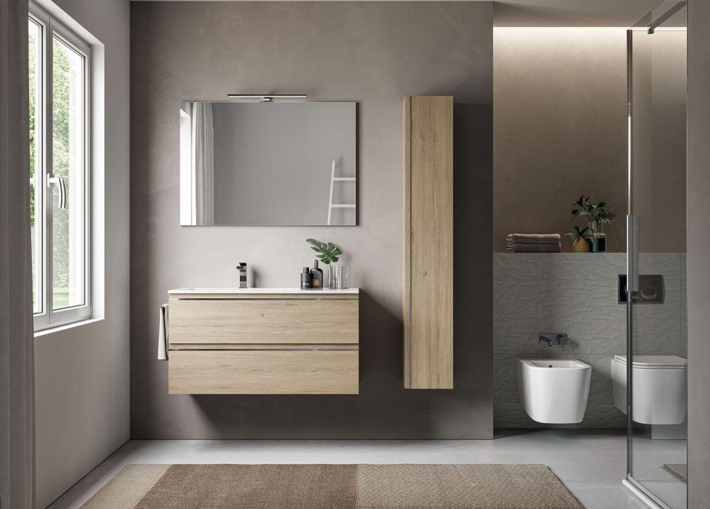 Mobile bagno – 45,5×120 – Base per lavabo destro