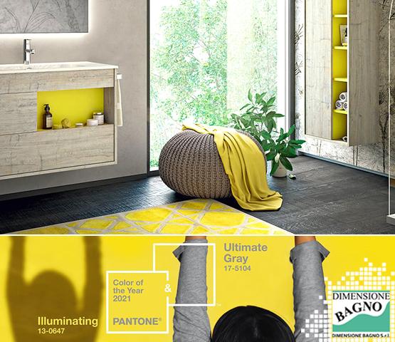 Il colore Pantone 2021 nel design bagno