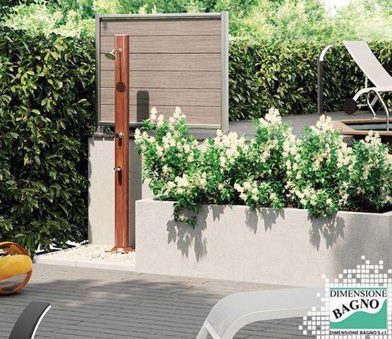 Sul balcone o in giardino: vuoi una doccia all'aperto?