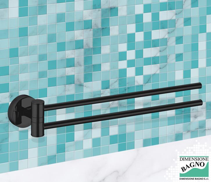 Fissare il portasalviette senza<br>bucare le piastrelle del bagno